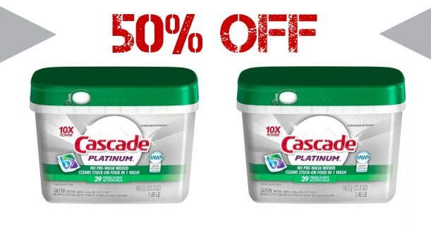 image relating to Cascade Coupons Printable named Cascade Dishwasher Merchandise Printable Coupon - Printable