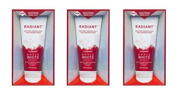 Colgate Optic White Beauty Radiant Toothpaste Printable Coupon