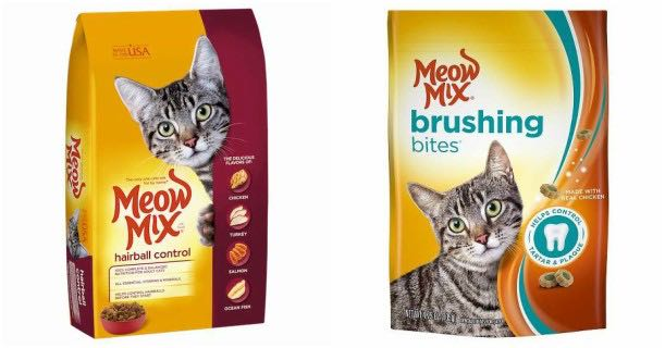 photograph regarding Meow Mix Coupon Printable identified as Conserve With $0.55 Off Meow Combine Coupon! - Printable Discount codes and