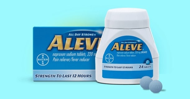 Aleve Pain Reliever 24ct Printable Coupon