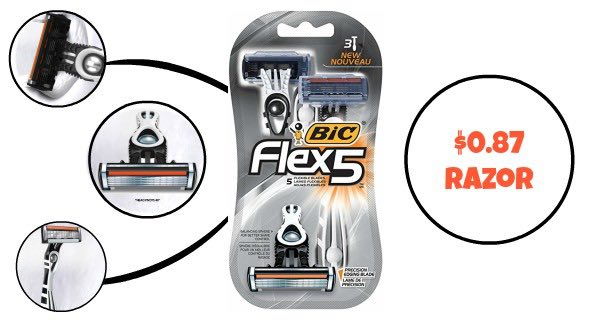 Bic Flex5 Hybrid Disposable Razor Image