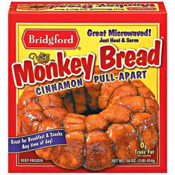 Bridgford Monkey Bread Printable Coupon