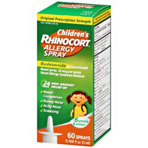Children's Rhinocort 60 Spray Printable Coupon