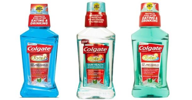 Colgate Mouthwash 8.4oz Bottle Printable Coupon