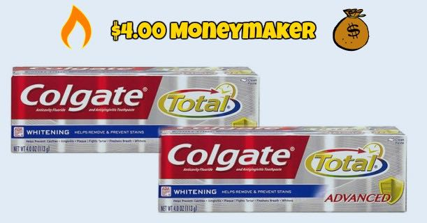 Colgate Total Advanced Whitening Toothpaste Image
