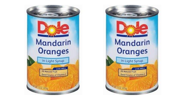 Dole Mandarin Oranges 15oz Cans Printable Coupon