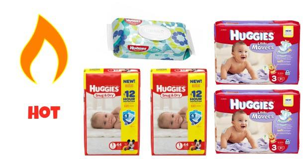 Huggies Jumbo Pack Diapers & Wipes Images
