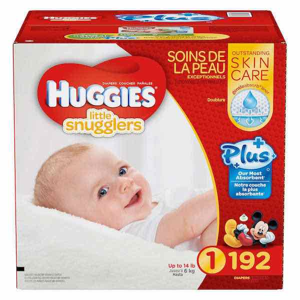 Huggies Little Snugglers Plus Diapers Size 1 192ct Printable Coupon