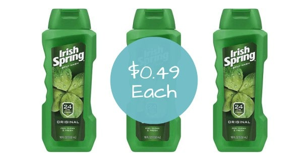 Irish Spring Body Wash Image