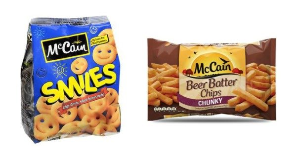 McCain Frozen Products Printable Coupon
