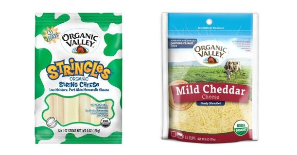 Organic Valley Organic Cheese Products Printable Coupon