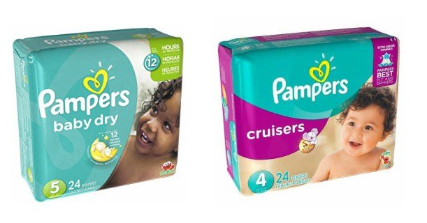 Pampers Cruisers 24ct & Baby Dry 24ct Image