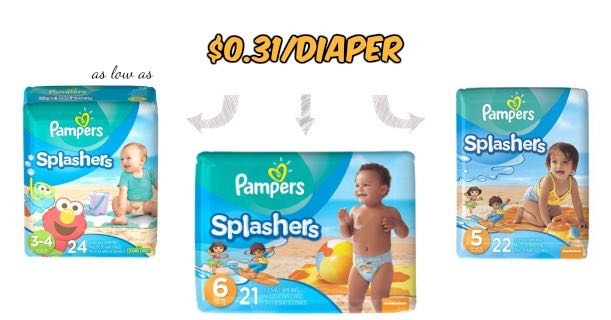 Pampers Splashers Swim Diapers Image