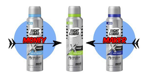 graphic relating to Right Guard Printable Coupon named Directly Shield Xtreme Accuracy Dry Spray Printable Coupon