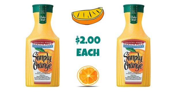 Simply Orange Juice Image