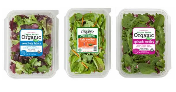 Taylor Farms Organic Salad Product Printable Coupon