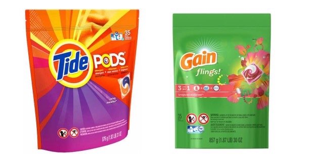 Tide Pods 35ct & Gain Flings 35ct Image
