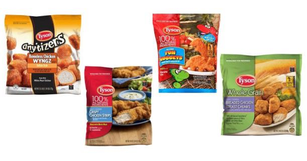 Tyson Chicken Products Image