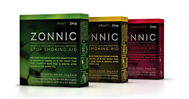 Zonnic Nicotine Gum Products Printable Coupons