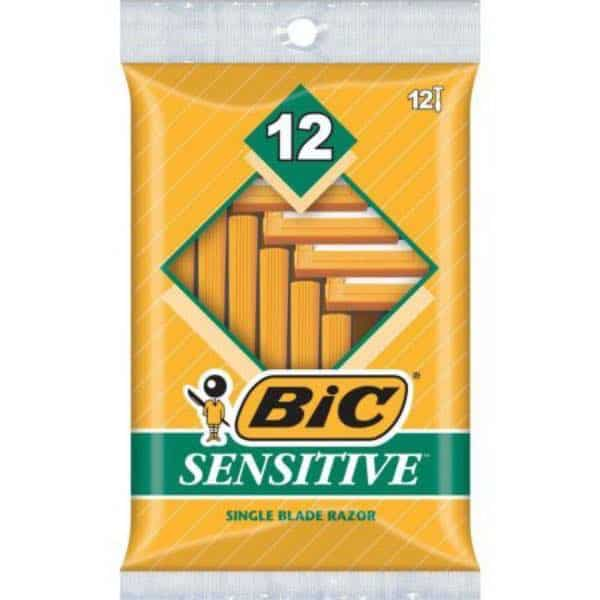 BIC Sensitive Men's Disposable Razors 12ct Pack Printable Coupon