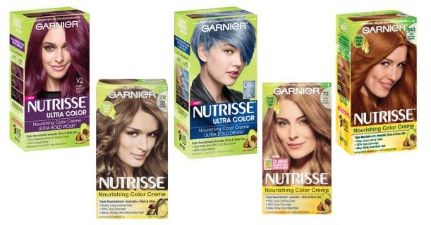 image about Garnier Coupons Printable called Garnier Nutrisse Hair Colour Items 50% Off At Walgreens