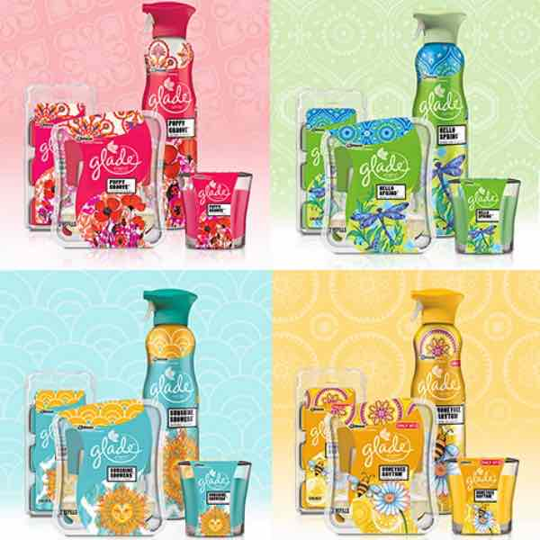 Glade Spring Collection Printable Coupons