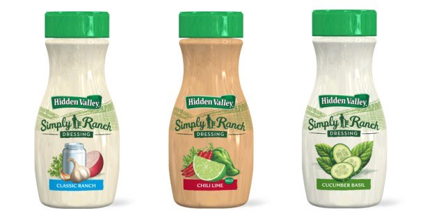 Hidden Valley Simply Ranch Dressing Printable Coupon