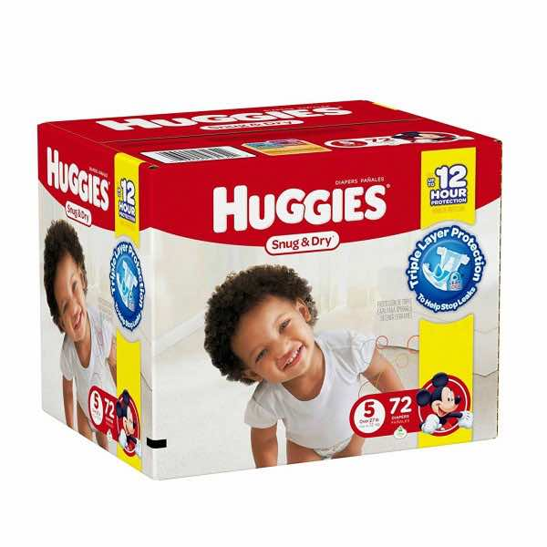 Huggies Snug & Dry Diapers 48-80ct Box Printable Coupon