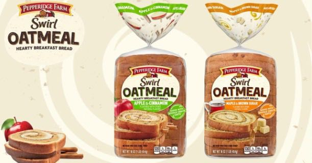 Pepperidge Farm Swirl Oatmeal Bread Printable Coupon
