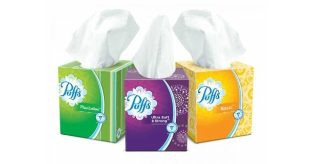 Puffs Facial Tissues Cubes Printable Coupon