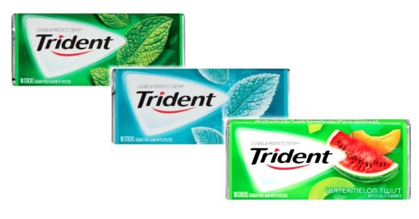 image relating to Gum Coupons Printable called Trident Gum Products and solutions Printable Coupon - Printable Coupon codes