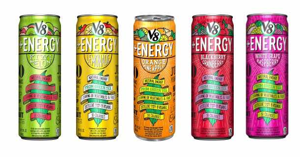 V8+Energy 12oz Cans Printable Coupon
