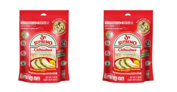 V&V Supremo Shredded Chihuahua Quesadilla Printable Coupon