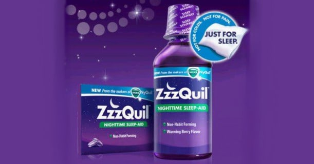 ZzzQuil Sleeping Aid Products Image