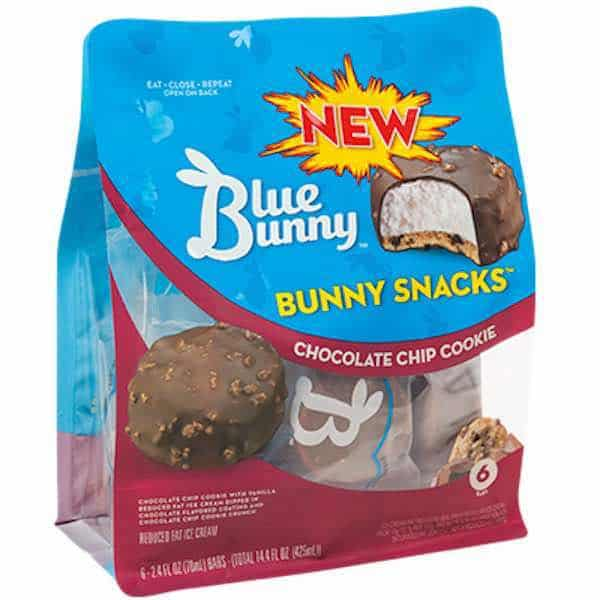 Blue Bunny Bunny Snacks Printable Coupon