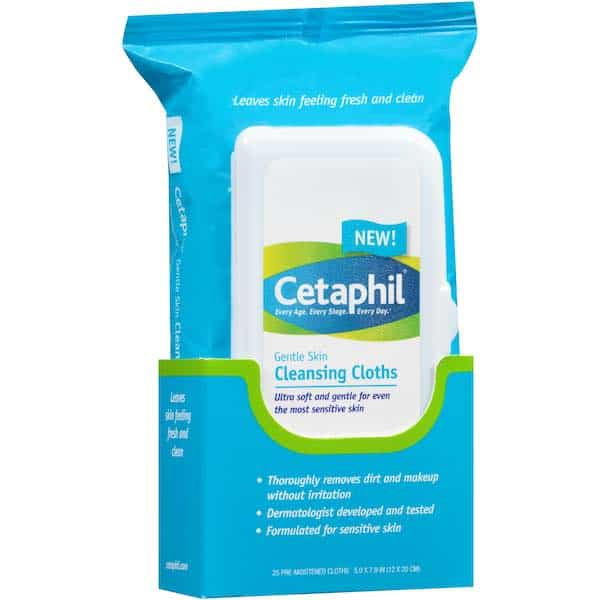 Cetaphil Face Wipes 25ct Pack Printable Coupon