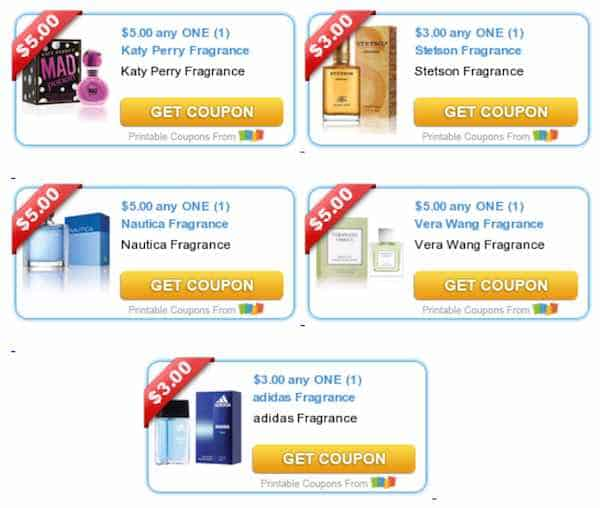 New Fragrance Printable Coupons
