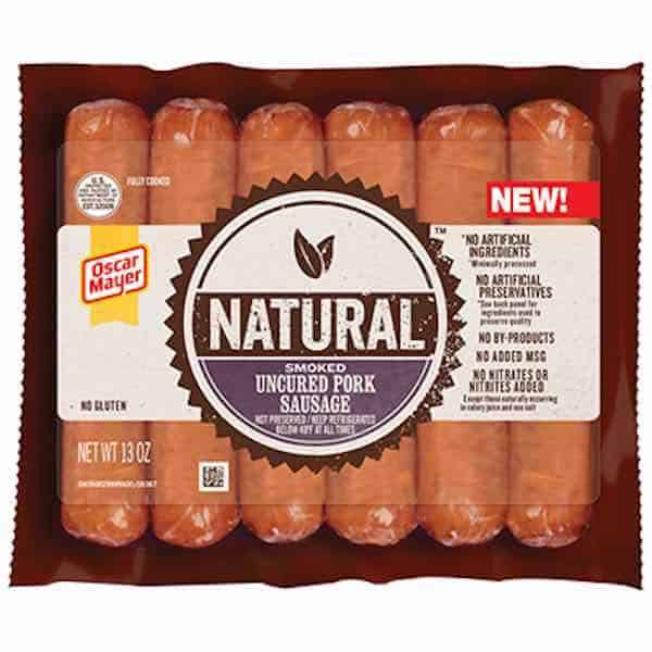 photograph regarding Oscar Meyer Printable Coupons identify OSCAR MAYER SELECTS Meal Sausage Printable Coupon