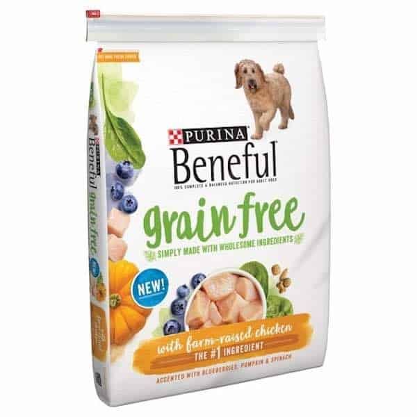 Purina Beneful Grain Free Dry Dog Food