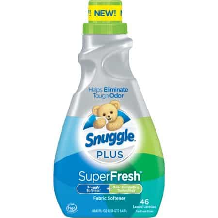 Snuggle Plus SuperFresh Liquid 48.6oz Printable Coupon