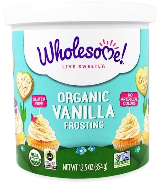 Wholsome organic Frosting