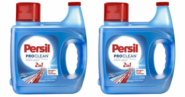 Persil ProClean Laundry Detergent 150oz Bottle Printable Coupon
