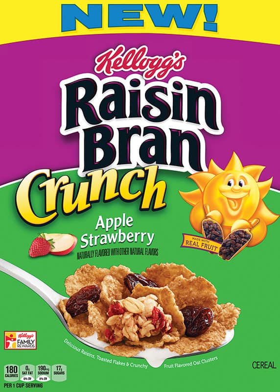 New Innovation Project Vinton - Raisin Bran Crunch Apple Strawberry ln Ext. - 1st production 40879A1