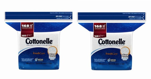 Cottonelle Fresh Cleansing Cloths 168ct Pack Printable Coupon