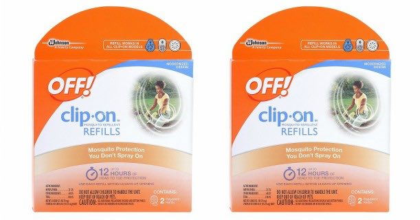OFF! Clip-On Refills 2ct Pack