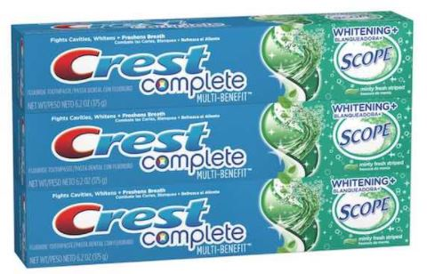 Like Crest coupons? Try these...