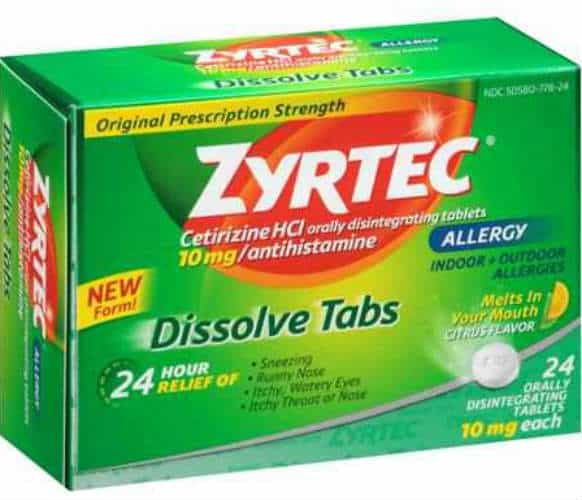 save 400 off any one adult zyrtec product 24ct 45ct with printable coupon