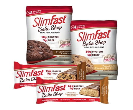 Slimfast Advanced Nutrition Protein Meal Replacement Bars