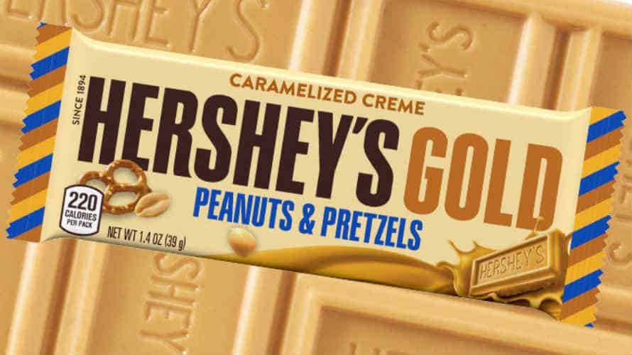 photograph regarding Family Dollar Printable Coupons referred to as Hersheys Gold Bars Upon Sale, Just $0.58 at Household Greenback