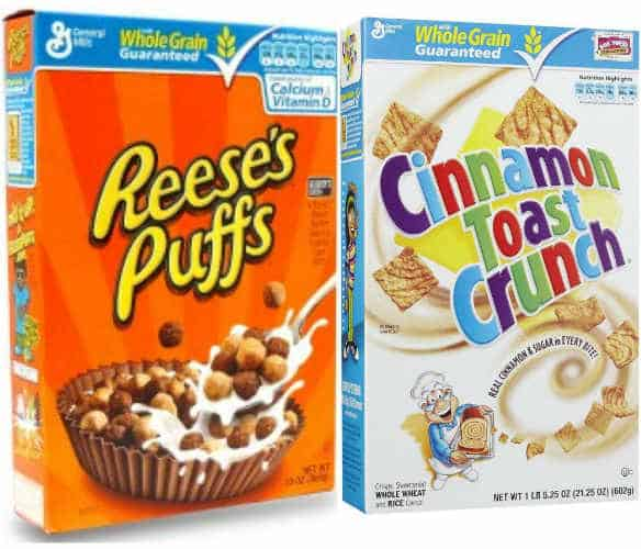 General Mills Cereal Only $2.50 Each At Walgreen's